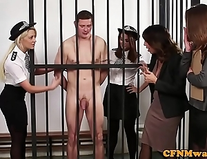 British judge dominas pulp a load off one's feet in chamber