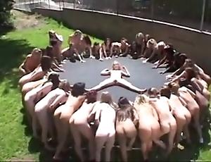 Lesbian piss&squirt line