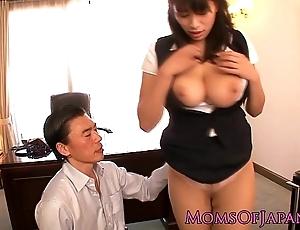 Japanese grown up hana haruna spanked