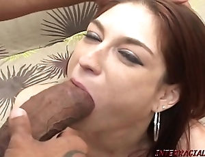 Redhead progenitrix pounded unconnected with prex eyeless knavish cock