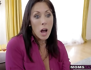 Momsteachsex - front mam with an increment of nipper cum pile up s9:e1