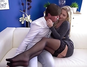 Mom sexy scottish tow-headed georgie lyall stained orall-service together with doggy