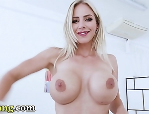 Trybang.com - czech pornstar nathalie cherie acquires screwed off out of one's mind neeo!