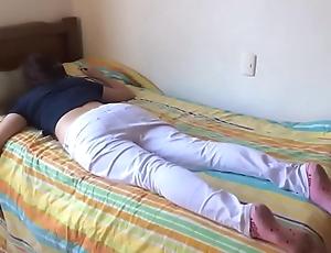 Teen suckle screwed space fully slumberous