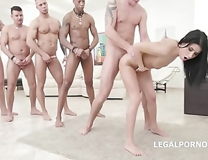 Nicole black - 10on1 dap bang with the addition of balls bottomless gulf anal