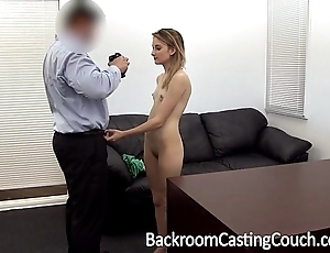 Youthful stripper aggravation screwed increased by creampie