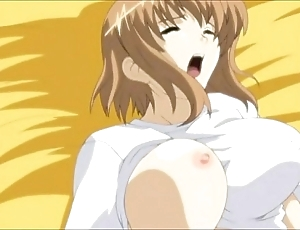 Anime fellow-clansman licks with an increment of bonks Florence Nightingale hard.