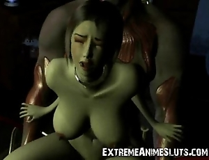 3d striking scifi sex!