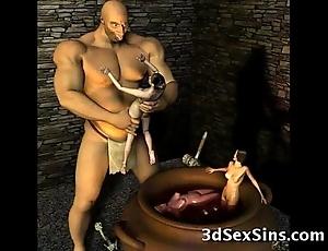 3d ogres cum more than lara croft!