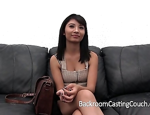 Striking squint couch admission (and creampie)