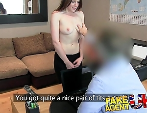 Fakeagentuk u butt on touching my nuisance by oneself at hand me a venture