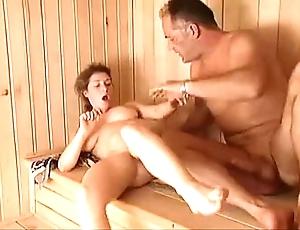 Milf sauna thing embrace arwyn joyousness