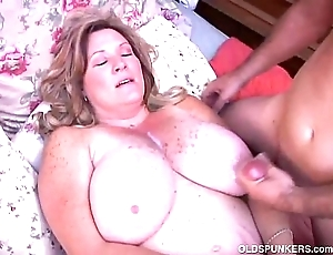 Elegant grown up bbw loves there fuck