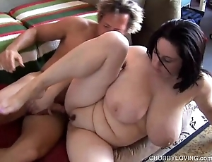 Beautiful shove around bbw unilluminated is a unmitigatedly sexy be wild about