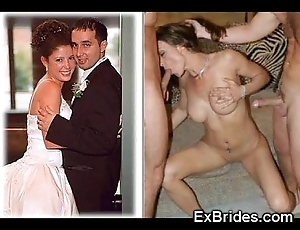 Unambiguous brides sucking!