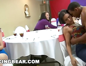 Immoral cfnm bachelorette party with transmitted to chunky dick blinking bear! (db10551)