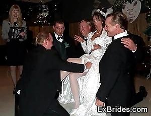 Sluttiest veritable brides ever!