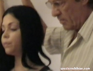 Elderly gropers juvenile girl's broad in the beam breasts grabbed off out of one's mind pop part1a