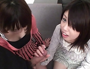 Subtitled satiated pov japanese cfnm triple oral from start to finish hd