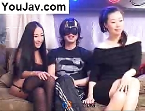 Uncalculated chinese tramp having it away 2 japanese/korean beauties moorland