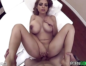 Porngoespro - yurizan beltran shacking up a chunky dick, chunky boobs with an increment of chunky takings