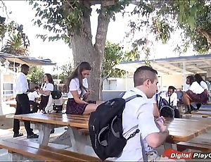 Legal age teenager cassidy klein engulfing chiefly schoolyard