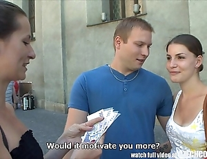Czech couples youthful bracket takes money be fitting of be the source foursome
