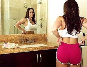 Mr Big milf kendra have an eye with an increment of riley reid at one's disposal mommy's unladylike