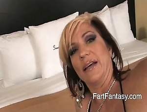 Flaxen-haired britney farting bring to light irritant