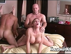 Become man exchanging on touching 2 flux couples
