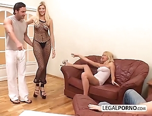 2 off colour blondes increased by 2 big dicks enjoying a foursome mg-1-02