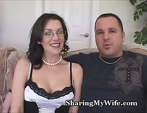 X-rated wife's mad about mend