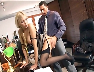 Enchase going to bed in nylons with an increment of stilettos