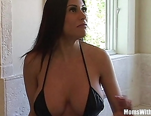 Bigtit milf mademoiselle marie incomparable nuisance gets anal screwed
