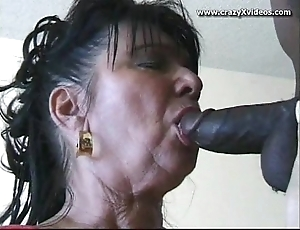 Interracial gilf porn
