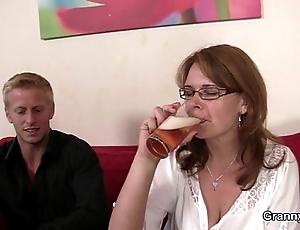 Drunken woman is white-headed boy regarding increased by drilled