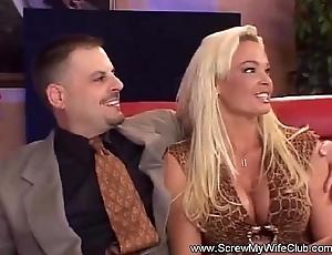 Mrs. slutwife likes involving swing